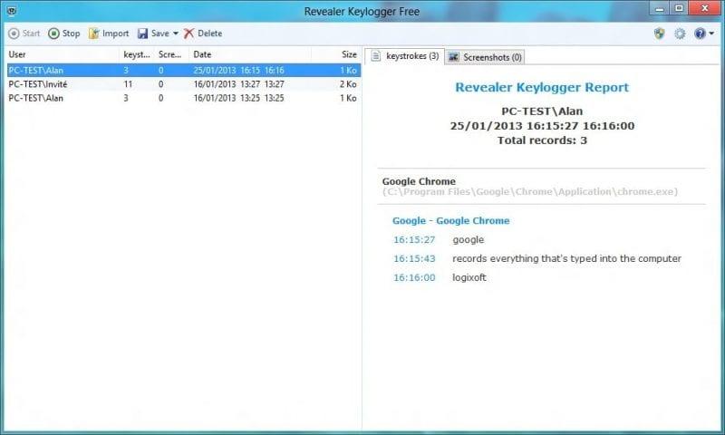 revealer keylogger - Top 6 Best Free Keylogger for Windows