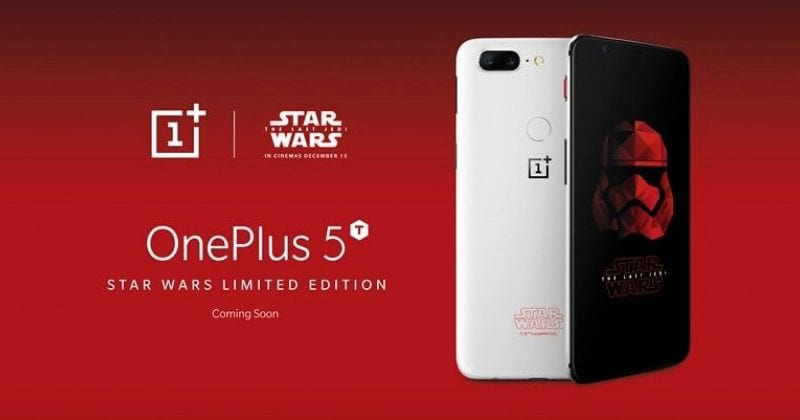 A Special Edition Of OnePlus 5T Is Coming Soon And Here's How It Looks