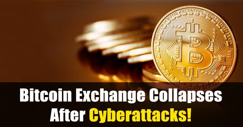 Bitcoin Exchange Collapses After Cyberattacks!