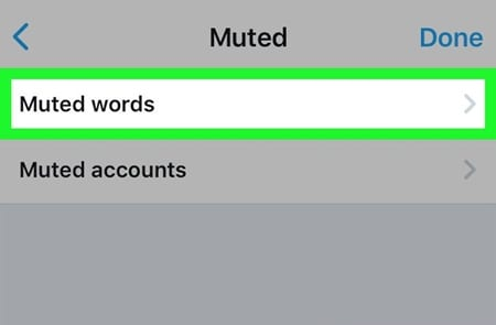 Block Tweets Containing Certain Words