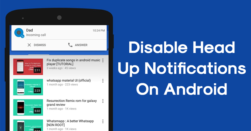 How to Disable Android Notifications for Various Social Networks