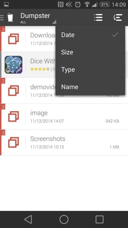 Dumpster 4 - How To Recover Deleted Photos & Videos From Android (Top 7 Ways)