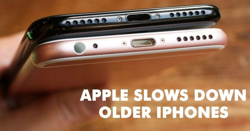 Finally, Apple Admits It Slows Older iPhones