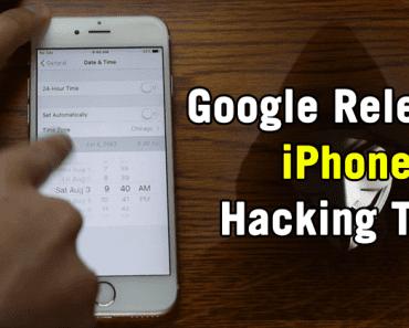 Google Just Released A Powerful iPhone Hacking Tool