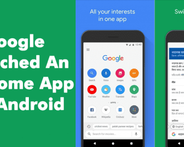 Google Launched An Awesome App For Your Android