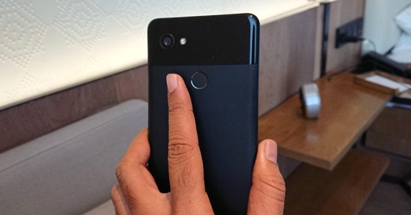 Google Pixel 2 XL Fingerprint Sensor Becomes Slow After Android 8.1 Update