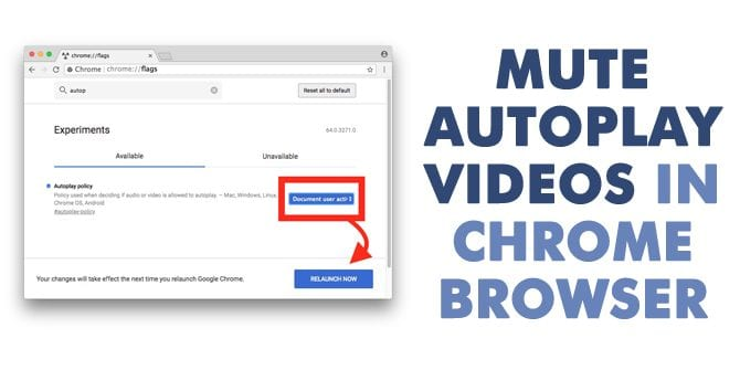 Here's How You Can Mute Autoplay Videos In Chrome Browser