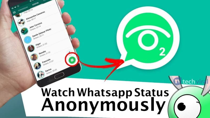How to Watch Whatsapp Status Anonymously