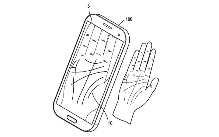 IMG 1 1 - Samsung Patents New Palm Scanning Security Feature