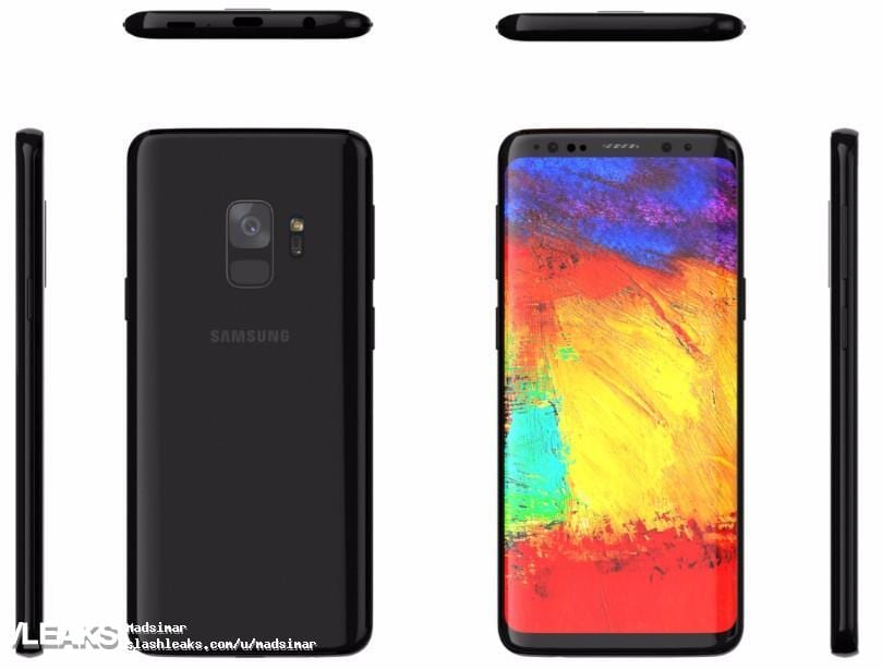 IMG 1 19 - Samsung Galaxy S9 Render Confirms Lack Of Dual Cameras