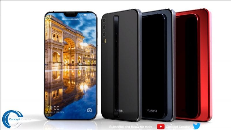 IMG 2 15 - Huawei P11 X Concept Shows Triple Camera & iPhone Like Notch