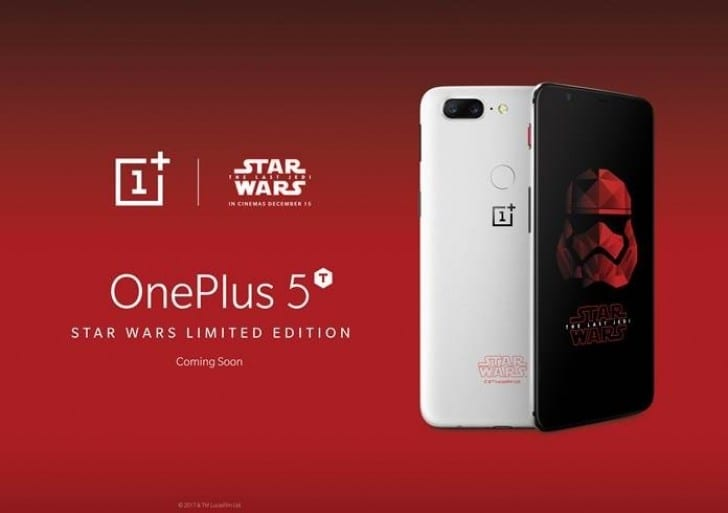 IMG 2 2 - A Special Edition Of OnePlus 5T Is Coming Soon And Here's How It Looks