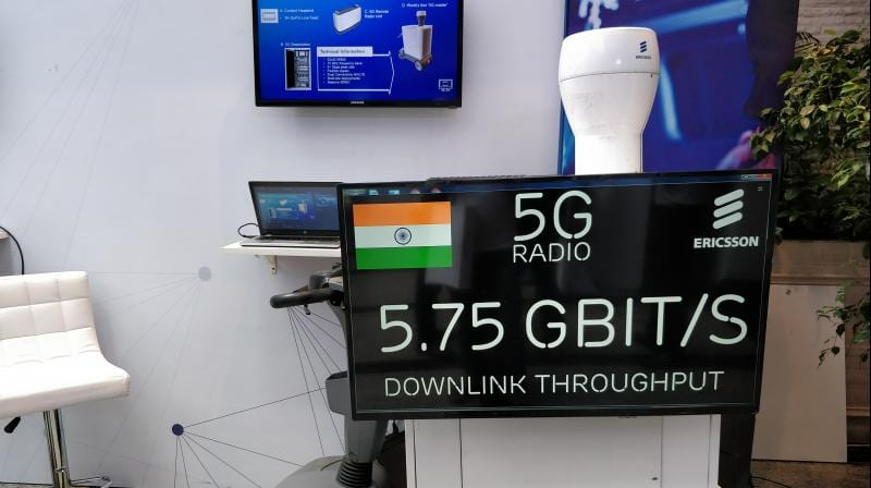 IMG 4 - WoW! Ericsson Demonstrates 5.75Gbps 5G Network Setup In India