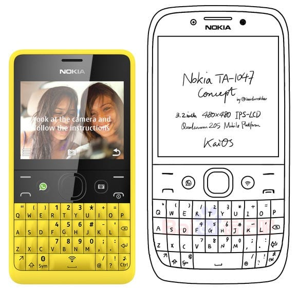 IMG 6 1 - New Nokia Phone With QWERTY Keyboard Spotted!