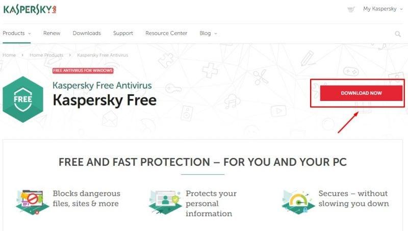 Kaspersky: Best Free Antivirus for Windows 10
