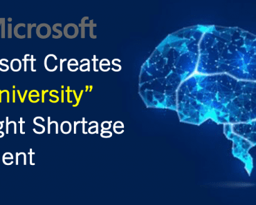 Microsoft Creates 'AI University' To Find New Talent