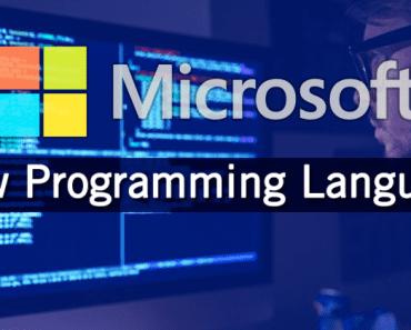 Microsoft Unveils New Programming Language!