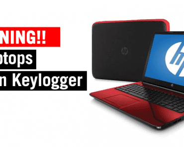 Over 460 HP Laptop Models Found With Pre-Installed Keylogger