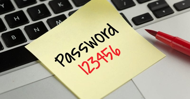 Report Shows People Are Still Using '123456' As Their Password