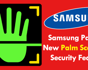 Samsung Patents New Palm Scanning Security Feature