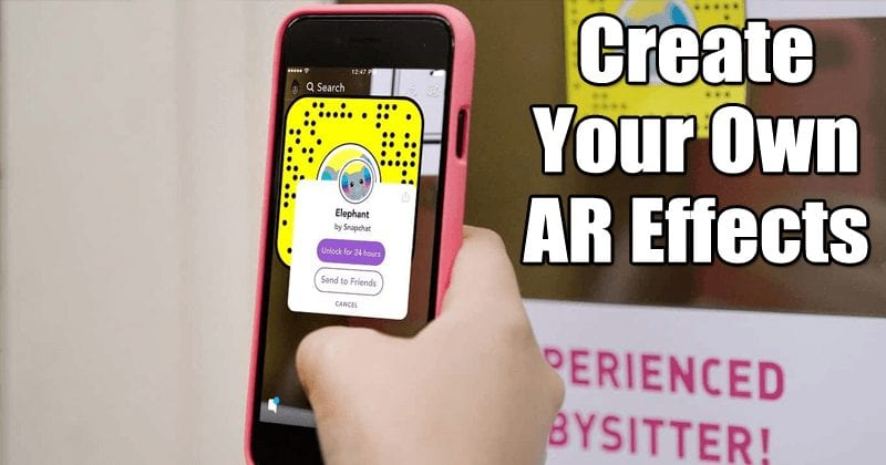 Snapchat Launches Lens Studio! Now You Can Create Your OWN AR Effects