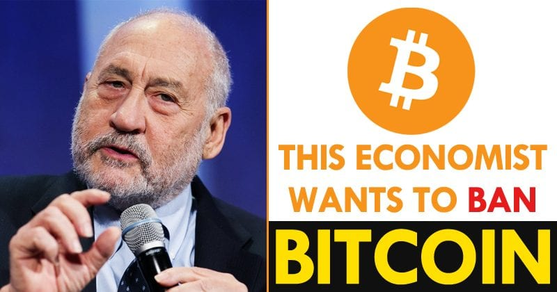 This Popular Economist Wants to Ban Bitcoin