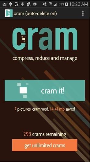 Using Cram
