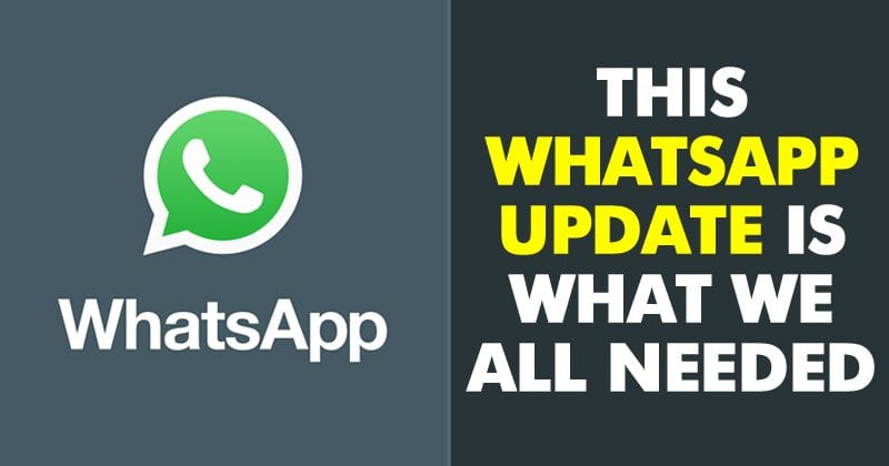 WhatsApp Is Testing An Awesome Feature For Group Chats