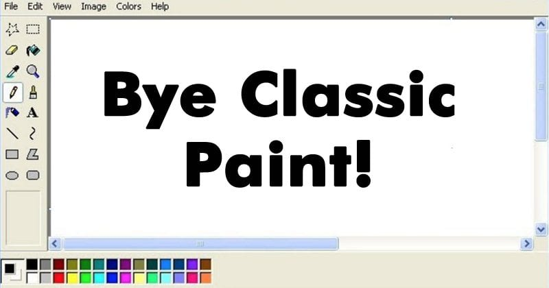 Windows 10 Redstone 4 To Remove Classic Paint