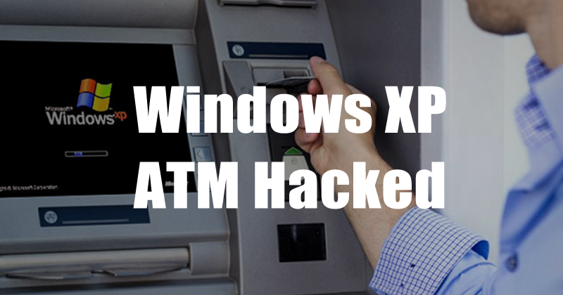 Windows XP ATM Hacked By Pressing Shift Five Times In a Row