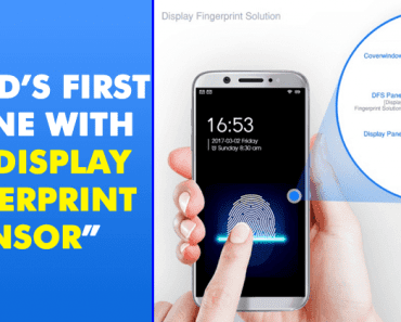 World's First Phone With 'In-Display Fingerprint Sensor' Arriving At CES 2018