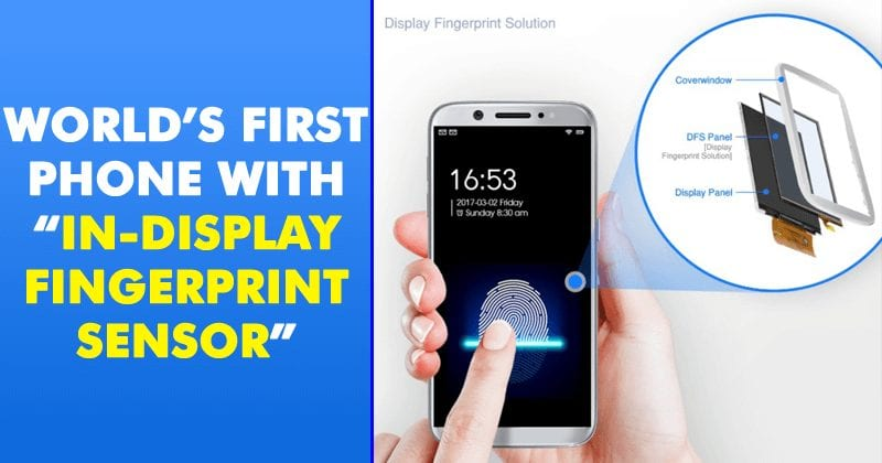 World's First Phone With 'In-Display Fingerprint Sensor' Arriving At CES 2019