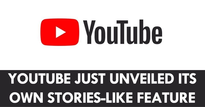 YouTube Just Unveiled Its Own Stories-Like Feature