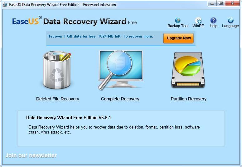 213 - Enjoy EaseUS Data Recovery Wizard Free