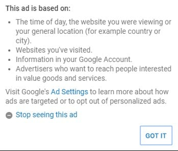 Block Specific Ads on Youtube