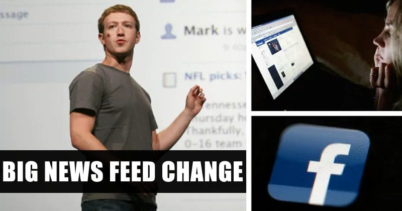 Facebook Announces A Big News Feed Change