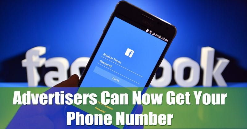 Facebook Bug Could Let Advertisers Get Your Phone Number