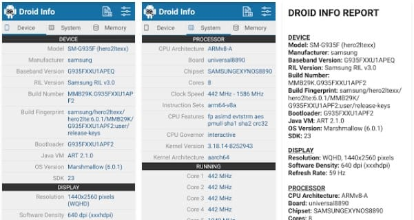 Find Your Android Device Info for Correct APK's Download