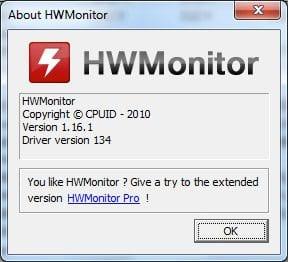 Using HWMonitor