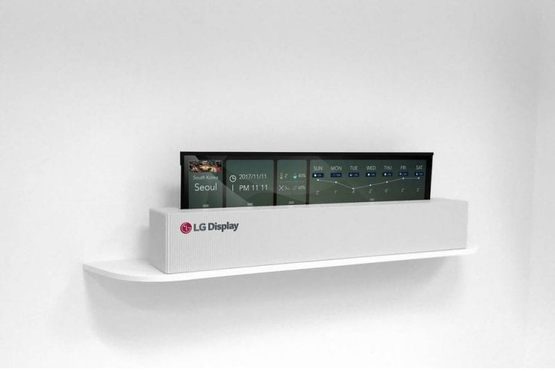 IMG 1 - Meet The World's First Rollable OLED TV
