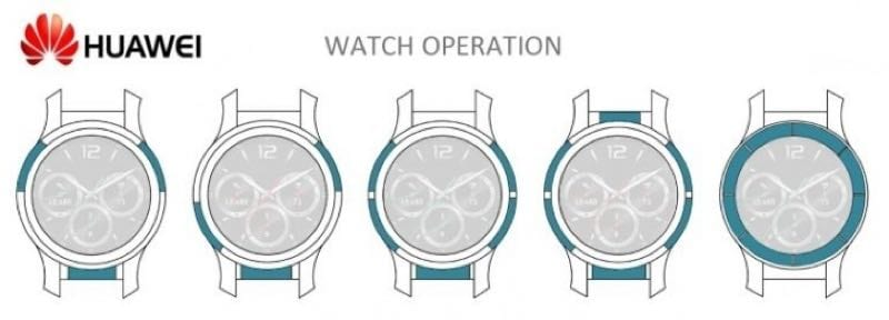 IMG 10 - Huawei Patents Touch-Sensitive Bezel For Smartwatches