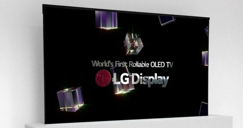 Meet The World's First Rollable OLED TV