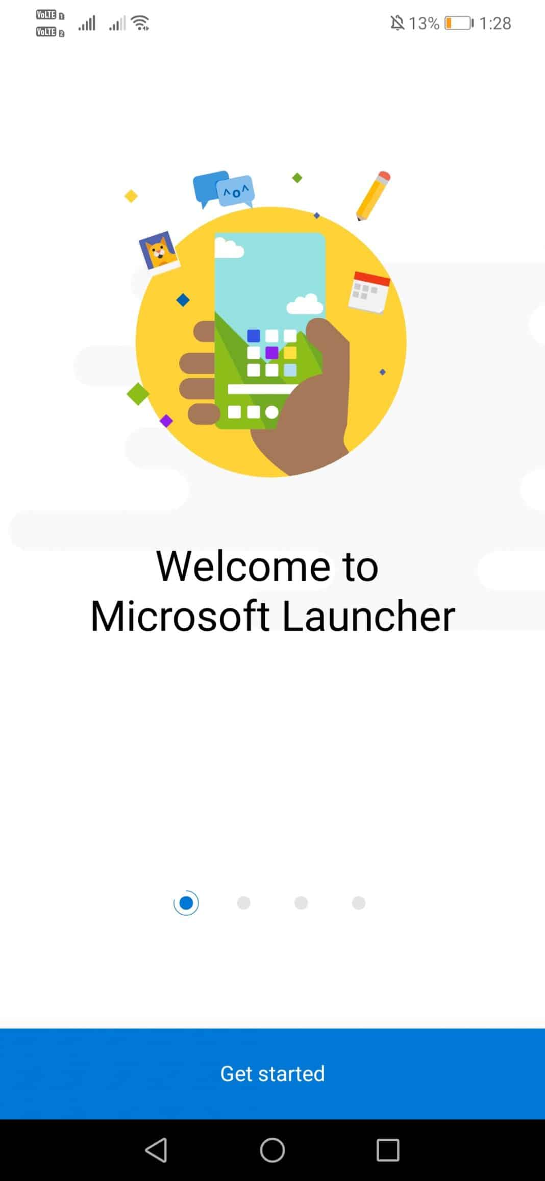 Open Microsoft Launcher