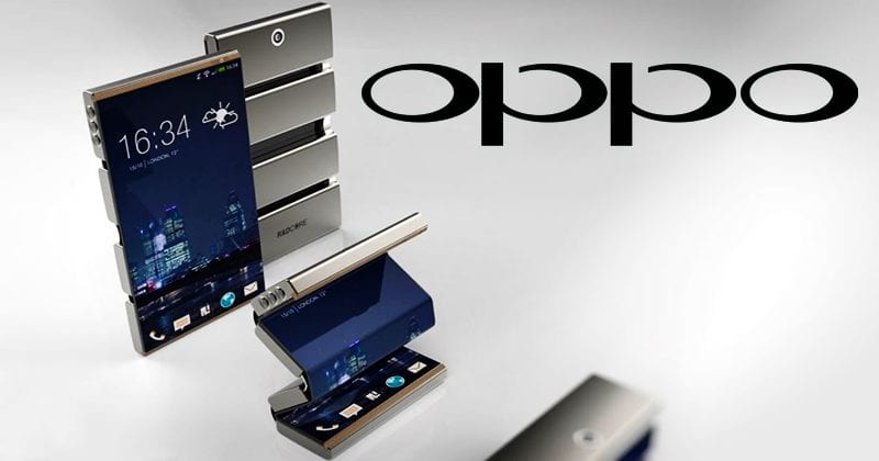 OPPO Patents Foldable Smartphone With Flexible Display