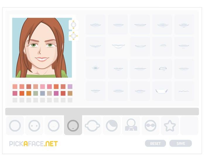 Pick a Face