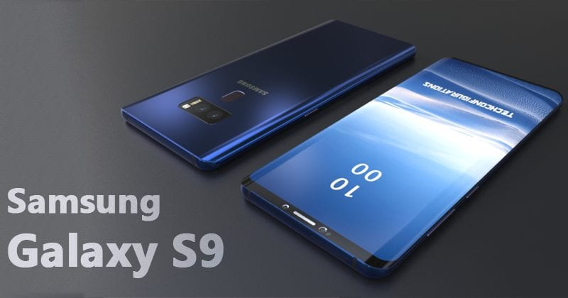 Samsung Galaxy S9 To Copy iPhone X