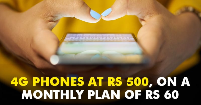 Jio Effect: 4G Smartphones At Rs 500, On A Monthly Plan Of Rs 60
