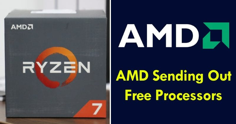 AMD Sending Out Free Processors To Users Facing Firmware Issues – Here's How To Get Yours