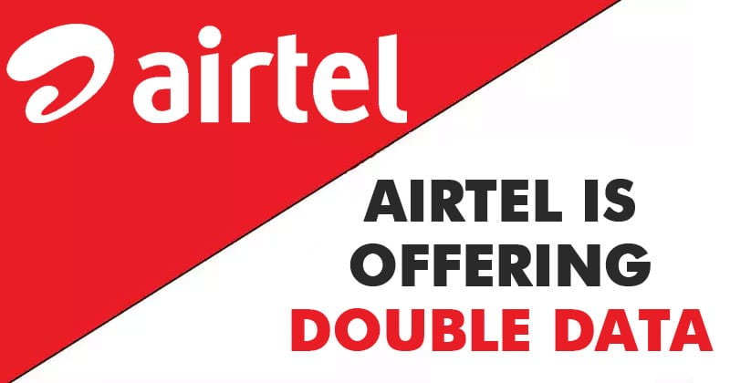 Airtel Is Offering Double Data In Rs 399 & Rs 499 Packs