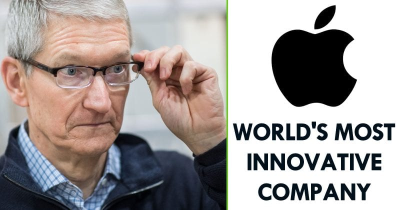 Apple Labelled As The World's Most Innovative Company